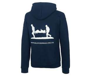 Help for Heroes Hoody - £25.00 SUPPORT OUR TROOPS