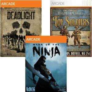 Microsoft Arcade/Indie Pack (Incl. Mark of the Ninja, Deadlight, Insanely Twisted Shadow Planet, Iron Brigade, Toy Soldiers) [STEAM] £6.60 @ Amazon US