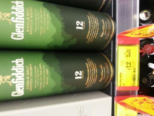 Glenfiddich 12 Year Old Malt Whisky 35cl £12.00 @ Asda