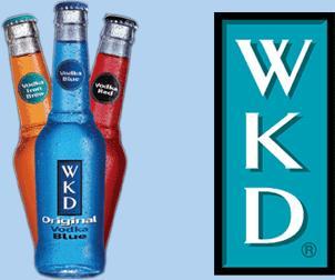 Blue wkd 275ml bottles 59p each b&m bargains