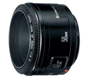 Canon EF 50mm f1.8 II Lens £77.95 delivered @ asda