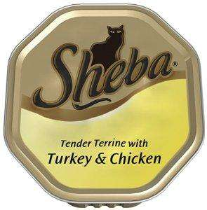 Sheba Turkey and Chicken Loaf 100 g (Pack of 32) delivered @ Amazon - £7.61