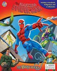 Spider Man busy book at Asda direct £5