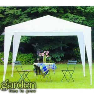 White Garden Gazebo - £16.99 @ Home Bargains