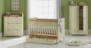 CLASSIC TWO-TONE NURSERY FURNITURE SET £308.94 delivered @ eBay (Argos Outlet)