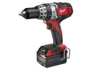 Milwaukee C18PD-32 18v Combi Hammer Drill KIt 2 x 3.0ah Red battery £199 @ FFX