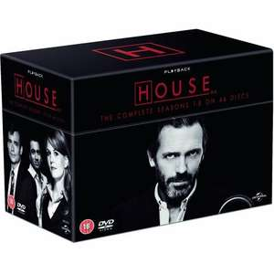 House - Season 1-8 [DVD] £57 @ Amazon
