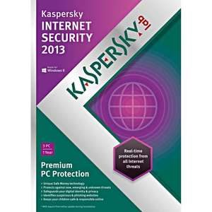 Kaspersky Internet Security 2012/2013 £5.35 for 1 Year / 1 PC via eBay  happy0756