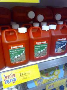 Swarfega Patio & Driveway Cleaner 2L only £1.99 in Home Bargains!
