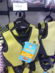 Childs swim/float jacket £5.99 in Home Bargains