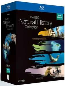 BBC Natural History Collection Box Set Blu-ray-Region Free £19.75@Amazon  UK -Free Delivery