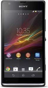 Sony Xperia SP £19.33 per month unlimited data & texts 500 mins TMOBILE £27 a month [with £160 redemption over 24 months]