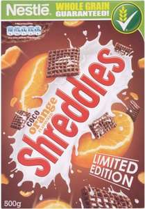 Nestle Coco Orange Shreddies Limited Edition £1.50 @asda in store and online