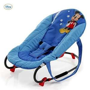 HAUCK ROCKY DELUXE BABY BOUNCER MICKEY BLUE @ kiddisave £23.90 Delivered