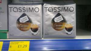 Tassimo Carte Noire Expresso Classic pack of 16 £1.29 @ Family Bargains