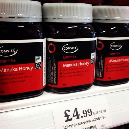Comvita Manuka Honey UMF 5+, £4.99 at Home Bargains