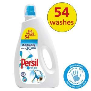 Persil Bio/ Non-Bio 54 Washes £5.50 @ The Co-operative FROM FRIDAY