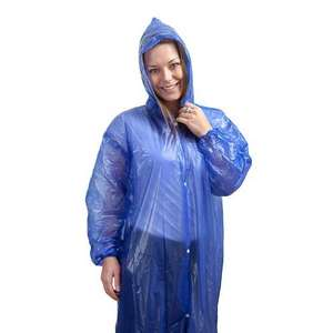 Outdoor Solutions Waterproof Raincoat at Poundland