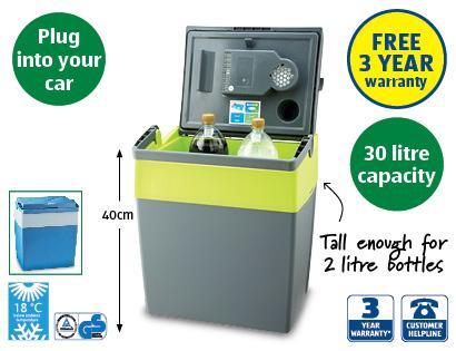 Aldi Electric Cool Box £34.99  Sunday 2nd June