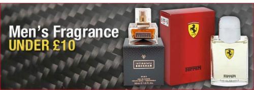 Huge Range of Men's Fragrances Under £10 @ Direct Cosmetics
