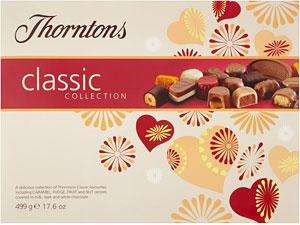 Thorntons Chocolates - Big Boxes 499 g for 1p in Tesco Express Instoree