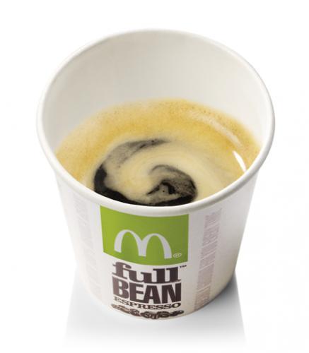 Double espresso 99p McDonalds