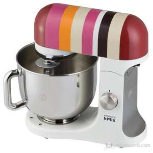 Kenwood kMix KMX84 in Firecracker red stripes for £249.95 instead of £399.95 at John Lewis + free 5 year guarantee
