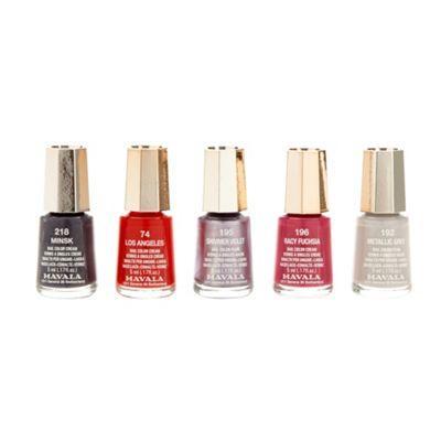 MAVALA pack of five nail polish set Was £22 Now £5.94 @ Debenhams