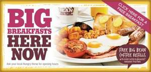 Free Big Breakfast @Hungry Horse, (Buy one get one Free)  £4.99 claim Via Facebook, 5000 Available