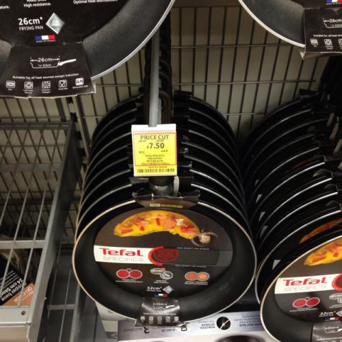 Tefal specifics frying pan 32cm 7.50 in tesco