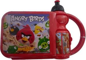 Angry birds lunch box and sports btl £1.99 @ B&M