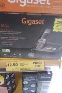 Gigaset C610A single Cordless Telephone/ansaphone only £12.50 instore @ tesco