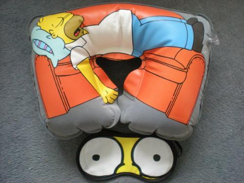 Simpsons Eye Mask & Travel Pillow £1 @ Poundland