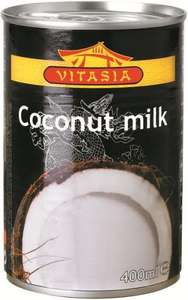 Vitasia  400ml can Coconut Milk (82%) 59p!! from 6 to 12 June at Lidl