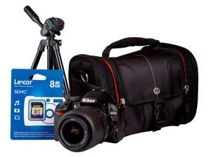 asda direct digital slr NIKON D3100 +18-55MM KIT (BAG, TRIPOD AND 8GB MEMORY CARD) £281.95 inc delive