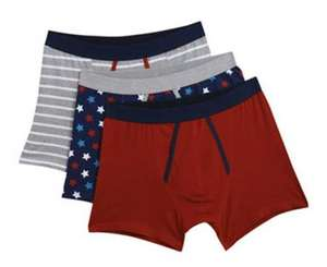 Men's 3 Pack of Boxers - £4.50 Delivered @ Burton
