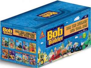 Bob The Builder Tool-Box Box Set 10 DVD - £7.95 @theHut