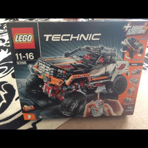 Lego technic 9398 4x4 crawler £99.99 @ Argos