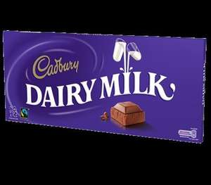 1kg Cadbury Chocolate Bar £5 @ ASDA