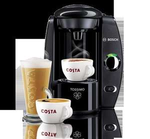 Bosch Tassimo T40 plus £20 of T-Disc credit - £30 delivered - Costa Coffee club members ** Pls DO NOT offer or request referrals **