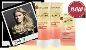 JOHN FRIEDA Everlasting Blonde trial packs