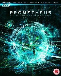 Prometheus (Collector's Edition) (Blu-ray 3D + Blu-ray + Digital Copy) [Region Free] £12.99 @ amazon