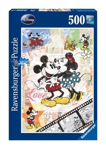 Ravensburger Retro Mickey 500pc Jigsaw Puzzle now £2.86 del @ Amazon