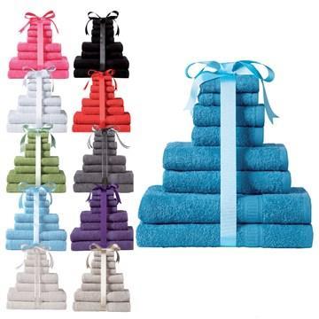 LUXURY COTTON Kingsley 8-Piece Towel Bale £6.60 @ 24stidio.co uk