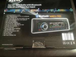 Car Stereo with CD/MP3/USB/AUX and Bluetooth - ALDI - £29.99 (Was £49.99)