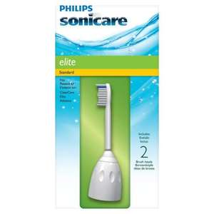 Philips Sonicare HX7002 Elite Toothbrush Heads 2-Pack@Amazon £13.49 (S&S)