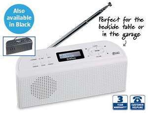 DAB/FM Radio - Just £16.99 Instore ALDI As  Thurday Special Buys From  This Week  6th June