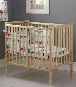 Kiddicare Compact Cot Natural + Baby Weavers mattress £55.95 Delivered @ Kiddicare