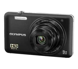 OLYMPUS D-745 Compact Digital Camera - Black for £39.97 @ Currys