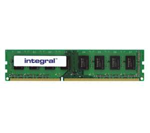INTEGRAL DDR3 8GB for £34.99 / 16GB for 69.98 (16GB works in HP N54L Microserver) @ PC World